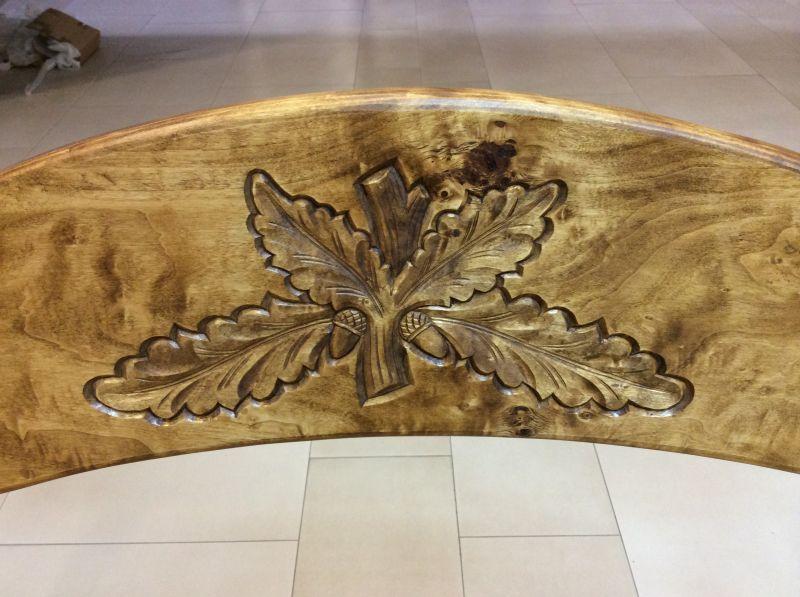 JAGD und WEINKELLER Möbel aus Maserholz 150cm