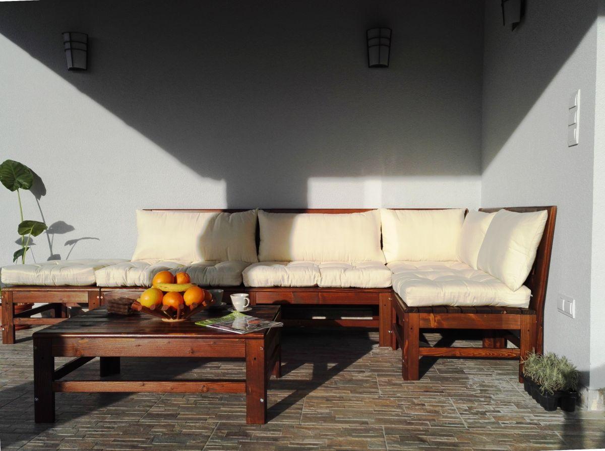 SIESTA Terrassen Sitzgarnitur